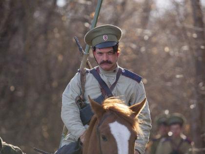 Евгений Ткачук в роли Григория Мелехова // tihiydon.tv