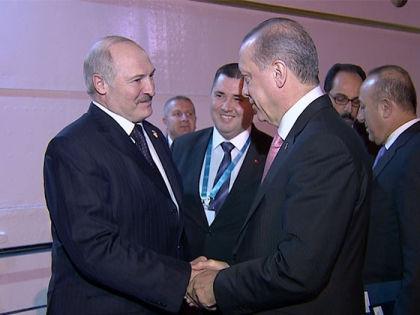 Встреча Александра Лукашенко и Реджепа Тайипа Эрдогана // president.gov.by