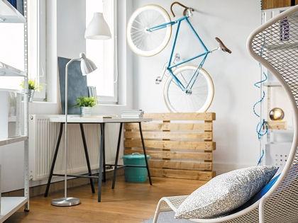 Даже самая маленькая квартира может быть стильной и уютной // pinterest.com