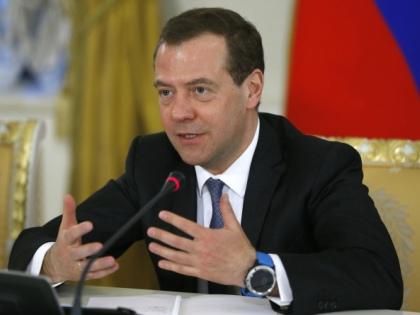 Дмитрий Медведев с новыми часами // РИА «Новости»