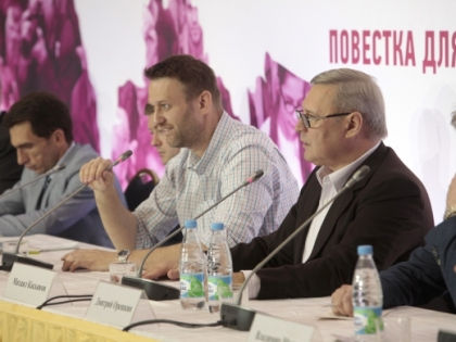 Алексей Навальный и Михаил Касьянов // svobodanaroda.org