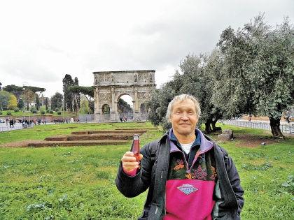 Рим. Жилье там было с видом на Тибр // личный архив