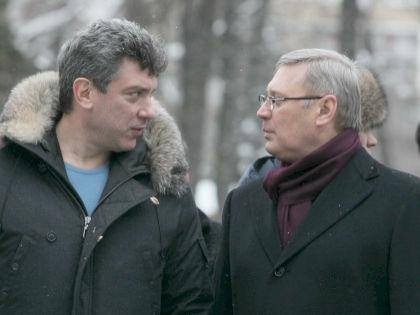 Борис Немцов и Михаил Касьянов // Global Look Press