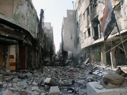 Разрушенный сирийский город // Global Look Press