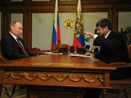 Владимир Путин и Рамзан Кадыров // Global Look Press