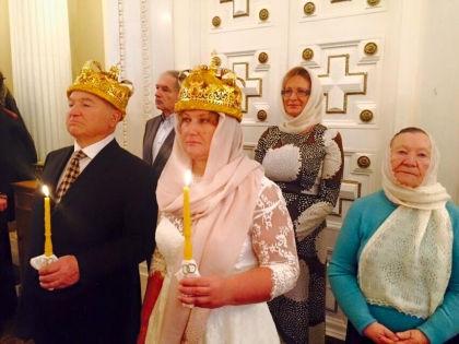 Венчание Юрия Лужкова и Елены Батуриной // Страница телеведущего Кирилла Эйхфуса в Facebook