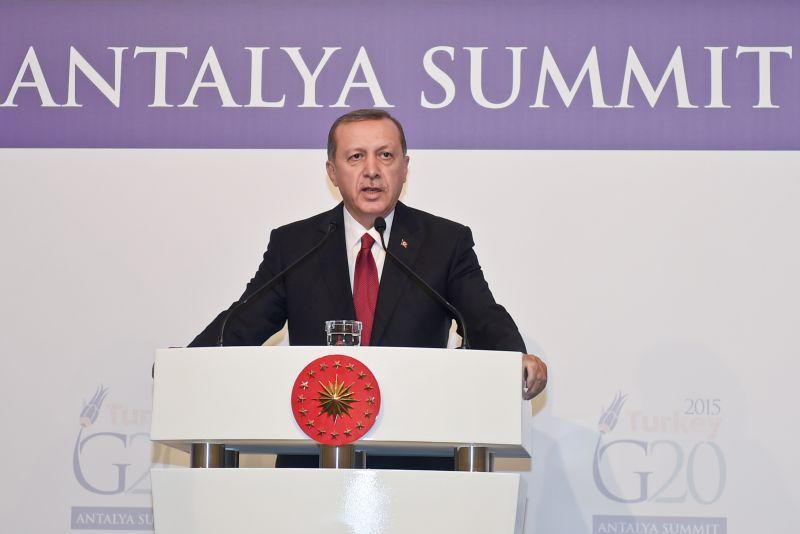 Эрдоган считает связь Турции и РФ крепче инцидента с Су-24 // Globall Look Press