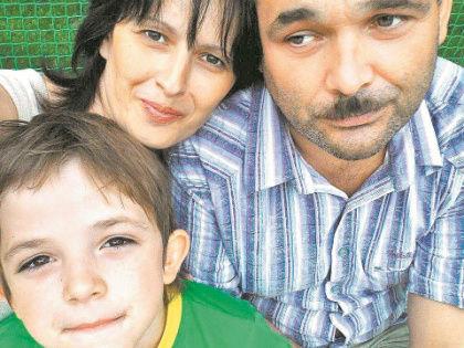 Ирина Ларионова и её семья // архив редакции