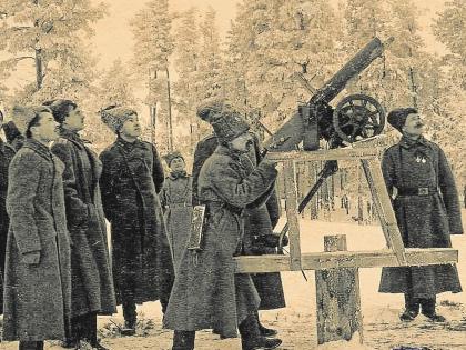 Российские солдаты на Северном фронте в январе 1917-го // архив редакции