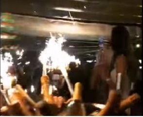 На вечеринке в Монте-Карло футболисты потратили 250 тыс. евро // YouTube