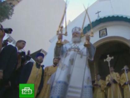 «На НТВ по утрам стали рассказывать про жития святых, разучивать молитвы...» // Стоп-кадр НТВ