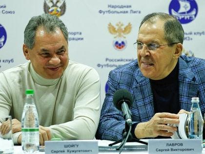 Сергей Шойгу и Сергев Лавров // mid.ru
