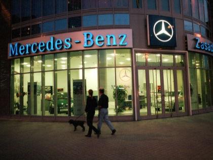 Mercedes Benz кризис не страшен // Global Look Press