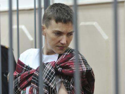Надежда Савченко в суде // Komsomolskaya Pravda / Global Look Press