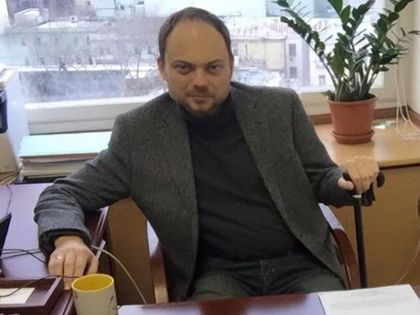 Владимир Кара-Мурза // Страница Кара-Мурзы в Twitter