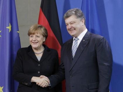Ангела Меркель и Петр Порошенко // Global Look Press