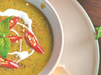 Мятный суп с кабачками // из личного архива
