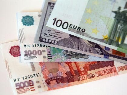 Евро и доллар растут шестые торги подряд. // Russian Look