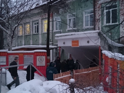 На территории шахты функционирует временный оперативный штаб // Пресс-служба ГУ МВД России по Свердловской области
