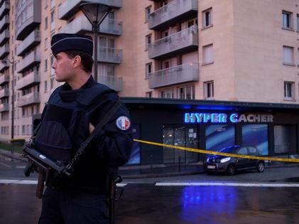 В ходе январских терактов во Франции погибли 17 человек, в том числе трое полицейских // Global Look Press