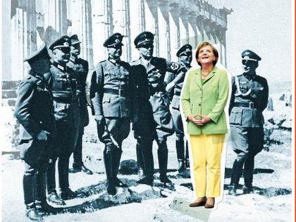 Журналисты пытаются ответить на вопрос, должна ли Германия выплачивать компенсации за преступления нацистов // Обложка Spiegel