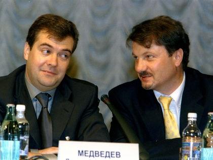 Дмитрий Медведев и Герман Греф // Global Look Press