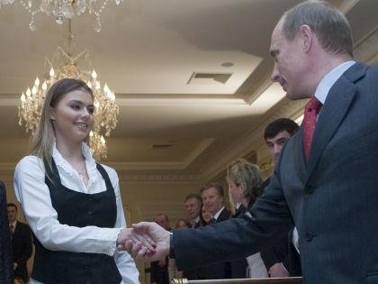 Алина Кабаева и Владимир Путин // Александр Вильф / Global Look Press