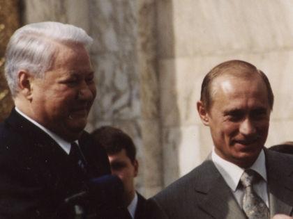 Борис Ельцин и Владимир Путин // Global Look Press