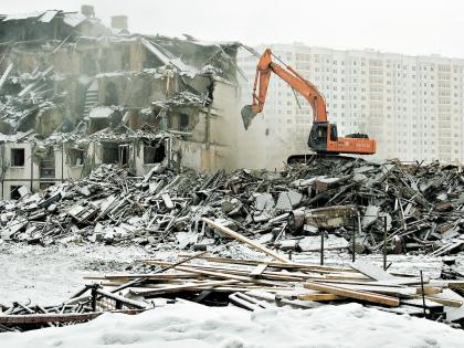 Обычно новое жилье по цене адекватно тому, что пошло под снос // Global Look Press