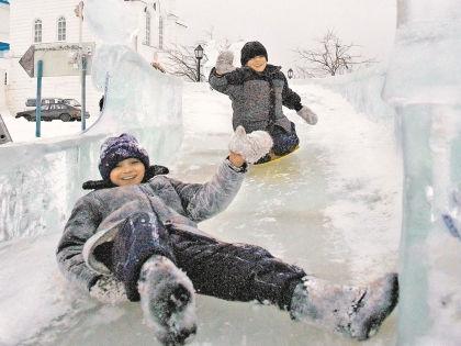 Ледяная горка // Global Look Press