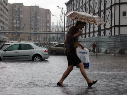 В Центральной России установилась дождливая погода // Global Look Press