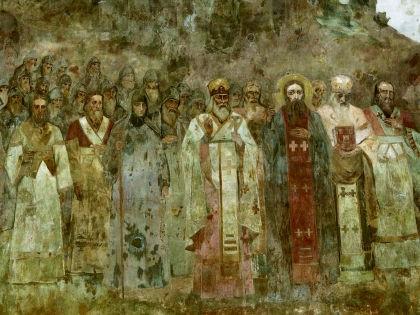 Фрагмент фрески «Крещение Руси» // Сергей Ковалев / Global Look Press