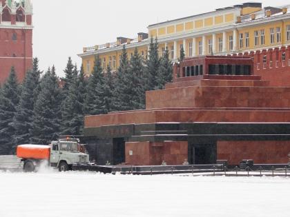 Работы по демонтажу сооружения с Красной площади планируется начать 23 апреля // Global Look Press