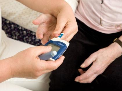 Тест на уровень сахара в крови // Global Look Press