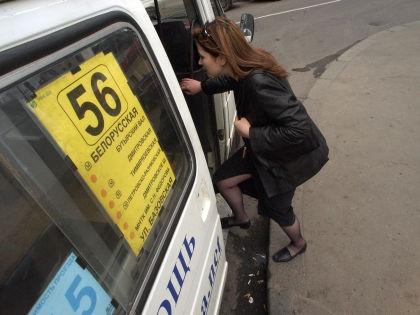 Стоимость проезда на маршрутках будут регулировать городские власти // Александр Щемляев / Global Look Press
