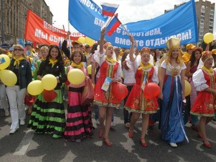Празднования по случаю 50-летия Фестиваля молодежи – 1957 в Москве, 2007 год // Global Look Press
