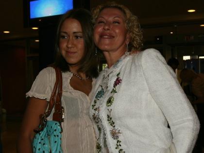 Любовь Успенская с дочерью // Global Look Press