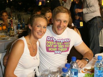 Сергей Горобченко и его жена Полина // Global Look Press