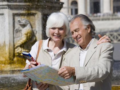 Пожилые туристы // Global Look Press