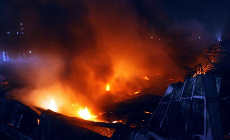 За пожар в ИНИОН ответит руководство // Global Look Press