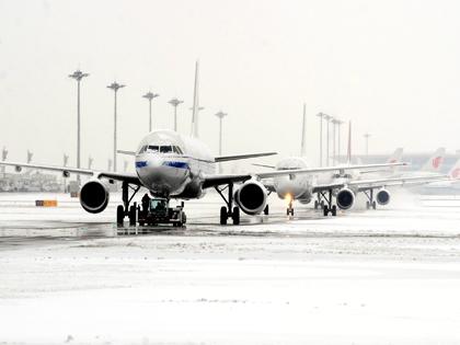 Задержка рейсов в московских аэропортах // Global Look Press