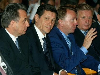 Виталий Мутко, Александр Жуков, Владимир Кожин и Леонид Тягачев // Global Look Press