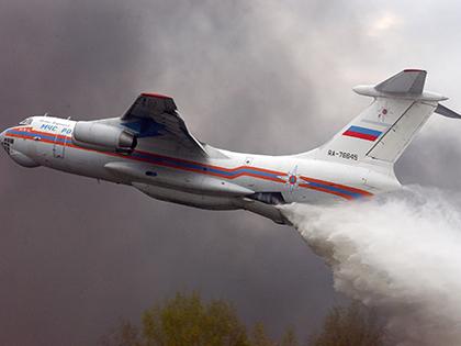 Ил-76 потерпел крушение в Иркутской области // Global Look Press