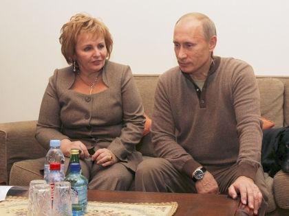 Владимир Путин и его экс-супруга Людмила // Global Look Press