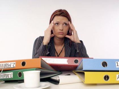 Стрессовая работа для здоровья человека является более опасной, чем безработица // Michaela Begsteiger / Global Look Press