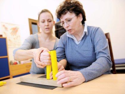 Занятия с трудотерапевтом помогут преодолеть хронические боли // Jan Haas / Global Look Press