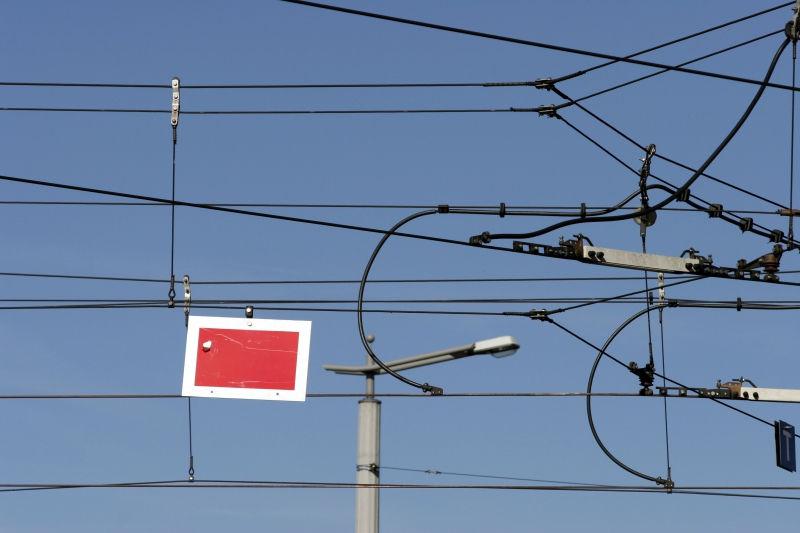 Трамвай сошел с рельсов на шоссе Энтузиастов // Global Look Press