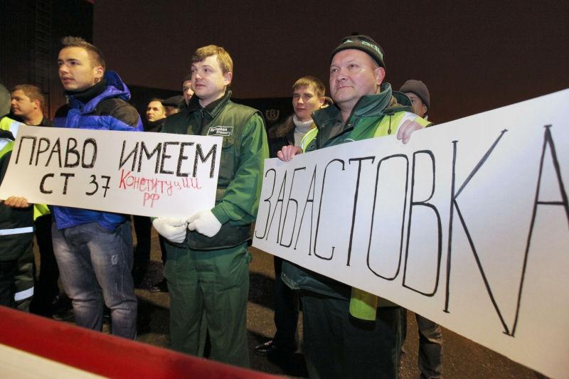 На данный момент в России проживает около 1 млн безработных граждан // Global Look Press