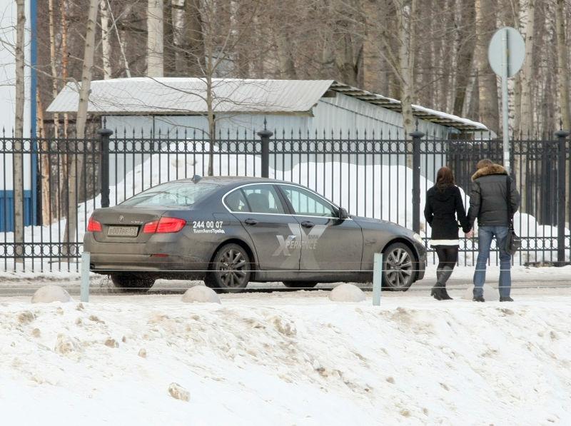 Угнанный BMW сейчас находится у владельца // Global Look Press