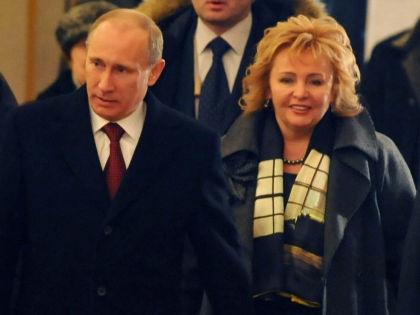 Владимир Путин и Людмила... Очеретная? // Global Look Press